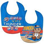 WinCraft Oklahoma City Thunder 2-Pack Bib Set