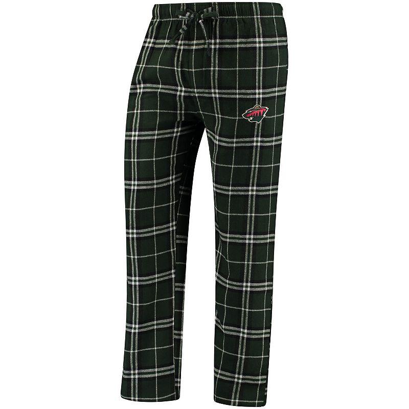 Men's Concepts Sport Green Minnesota Wild Huddle Sleep Pants, Size: 4XL