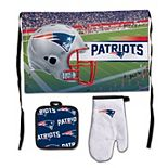 WinCraft New England Patriots 3-Piece Barbecue Set