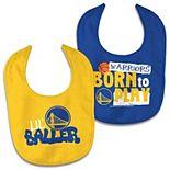 Newborn & Infant WinCraft Golden State Warriors 2-Pack Bib Set