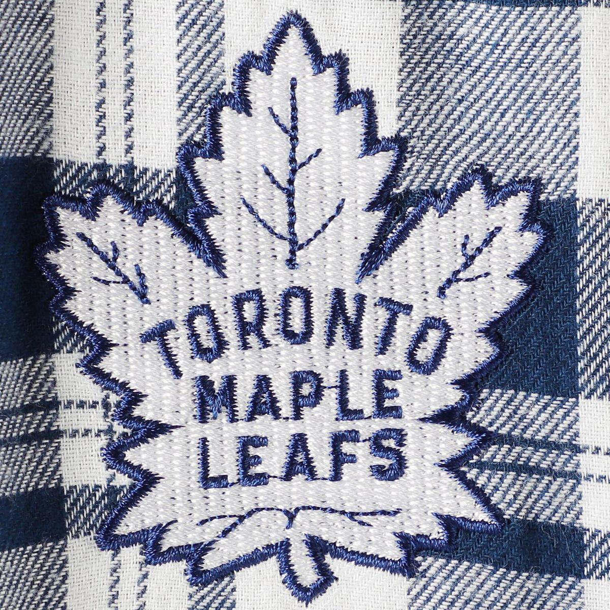 Women's Concepts Sport Navy/White Toronto Maple Leafs Piedmont Flannel Pants VuX9Y