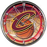 WinCraft Cleveland Cavaliers Chrome Wall Clock