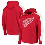 Men's Fanatics Branded Red/White Detroit Red Wings Iconic Fleece Pullover Hoodie