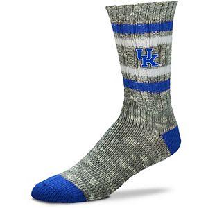 Women's For Bare Feet Kentucky Wildcats Alpine Tweed Crew Socks
