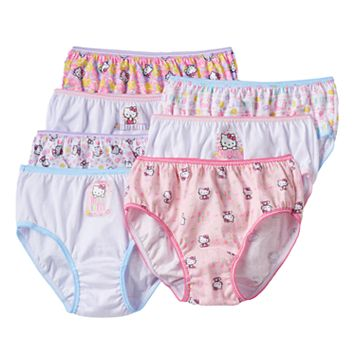 Girls Hello Kitty® 7-pk. Briefs