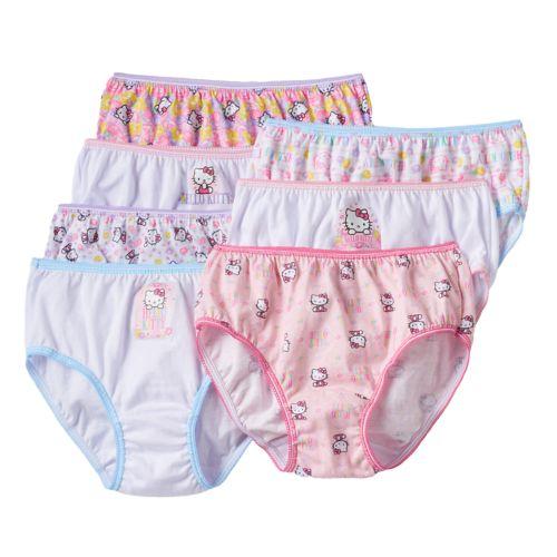 Hello Kitty® 7-pk. Briefs - Girls'