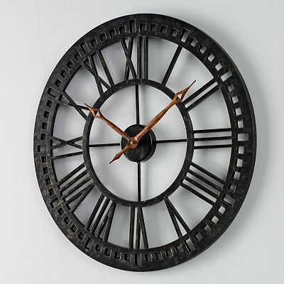 Chaney Weathered Wall Clock