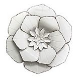 Stratton Home Decor Metal Flower Wall Decor