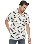 Men's Marc Anthony Slim-Fit Printed Polo