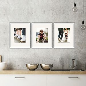 Belle Maison Linear Gallery Frame 3-piece Set