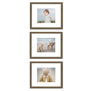 Belle Maison Gallery Scoop Black 3-Frame Set