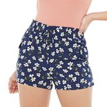 Juniors' Joe B Cargo Pocket Challis Shorts