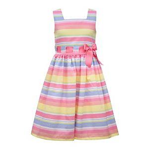 Girls 7-16 Bonnie Jean Multicolor Striped Dress