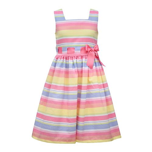 Girls 7-16 Bonnie Jean Multicolor Striped Dress