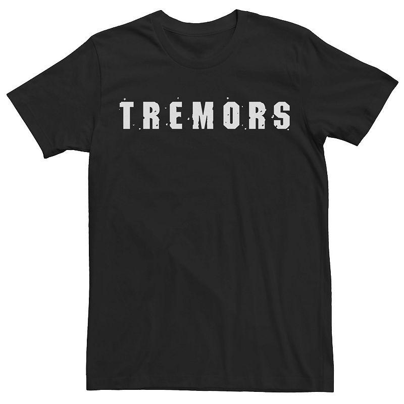 Men's Tremors Logo Tee. Size: Small. Black