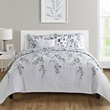 VCNY Home Hailey Floral Quilt Set