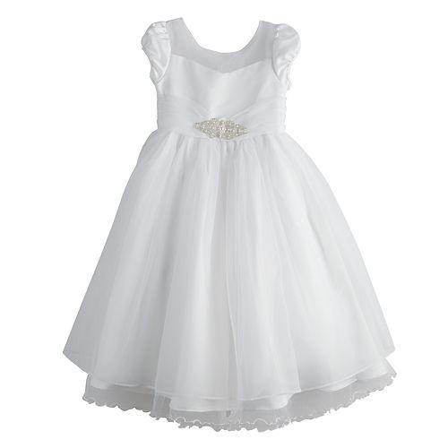 Girls 7-16 Bonnie Jean Organza Fit & Flare Dress