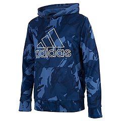 Blue Adidas Hoodies Sweatshirts Tops Clothing Kohl S