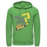 Men's Nickelodeon Guts Do You Have It Vintage Question Logo Graphic Hoodie