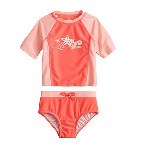 Toddler Girl ZeroXposur Color Play 2-Piece Swimsuit Set