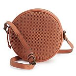 SONOMA Goods for Life® Harbor Perforated Mini Crossbody Bag