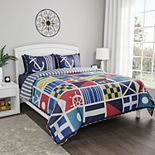 Portsmouth Home Nautical Bedspread Set