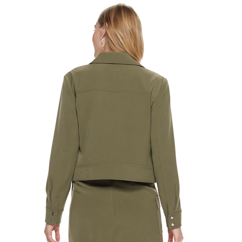 Women's Nine West Patch-Pocket Trucker Jacket