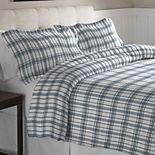 Pointehaven Heavy-Weight Flannel Duvet Cover Set