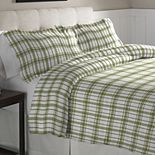 Pointehaven Heavy-Weight Flannel Duvet Cover Set