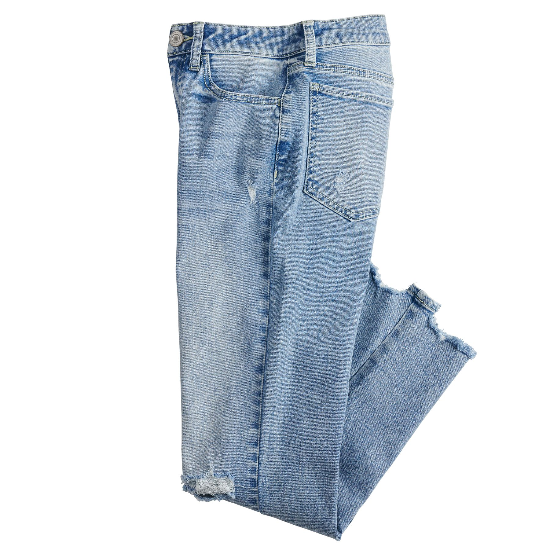 Juniors' SO® High Rise Kick Cropped Pants