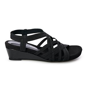 Croft & Barrow® Measure Women's Wedge Sandals