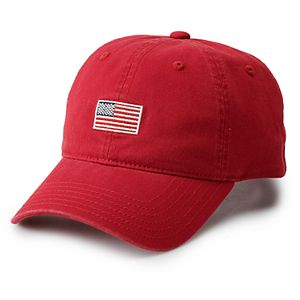 Men's American Flag Adjustable Hat