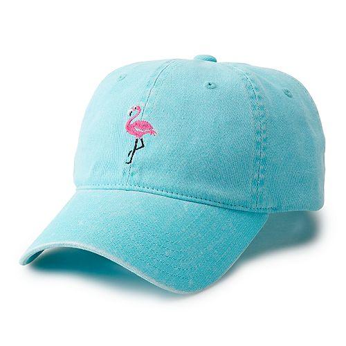Men's Flamingo Adjustable Hat