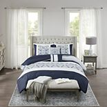 Madison Park Nikola 6-Piece Comforter Set with Coordinating Pillows
