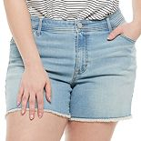 Plus Size EVRI? Denim Shorts