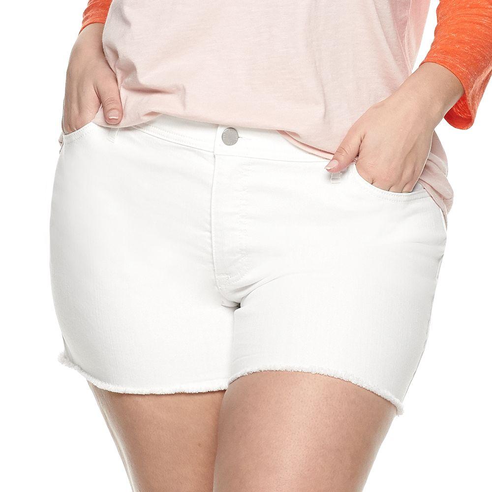 Plus Size EVRI™ Denim Shorts