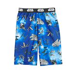 Boys 4-12 Star Wars Go Vehicles Sleep Shorts