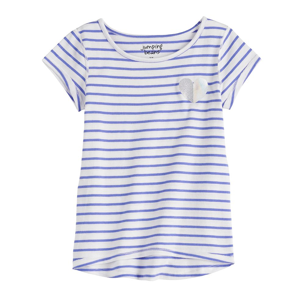 Girls 4-12 Jumping Beans® Adaptive High-Low Hem Tee