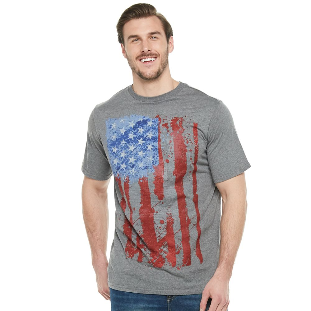 Men's Apt. 9® Patriot Paint Americana Flag Graphic Tee