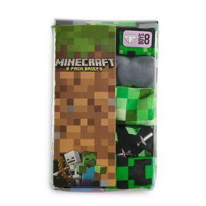 Boys 4-8 Minecraft 5-Pack Briefs