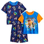 Disney / Pixar's Toy Story 4 Boys 4-10 Tops & Shorts Pajama Set