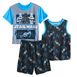 Boys 6-12 Star Wars Streamline Tops & Shorts Pajama Set