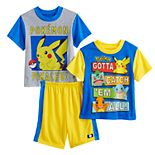 Boys 6-12 Pokemon Pikachu Catch 'Em Tops & Shorts Pajama Set