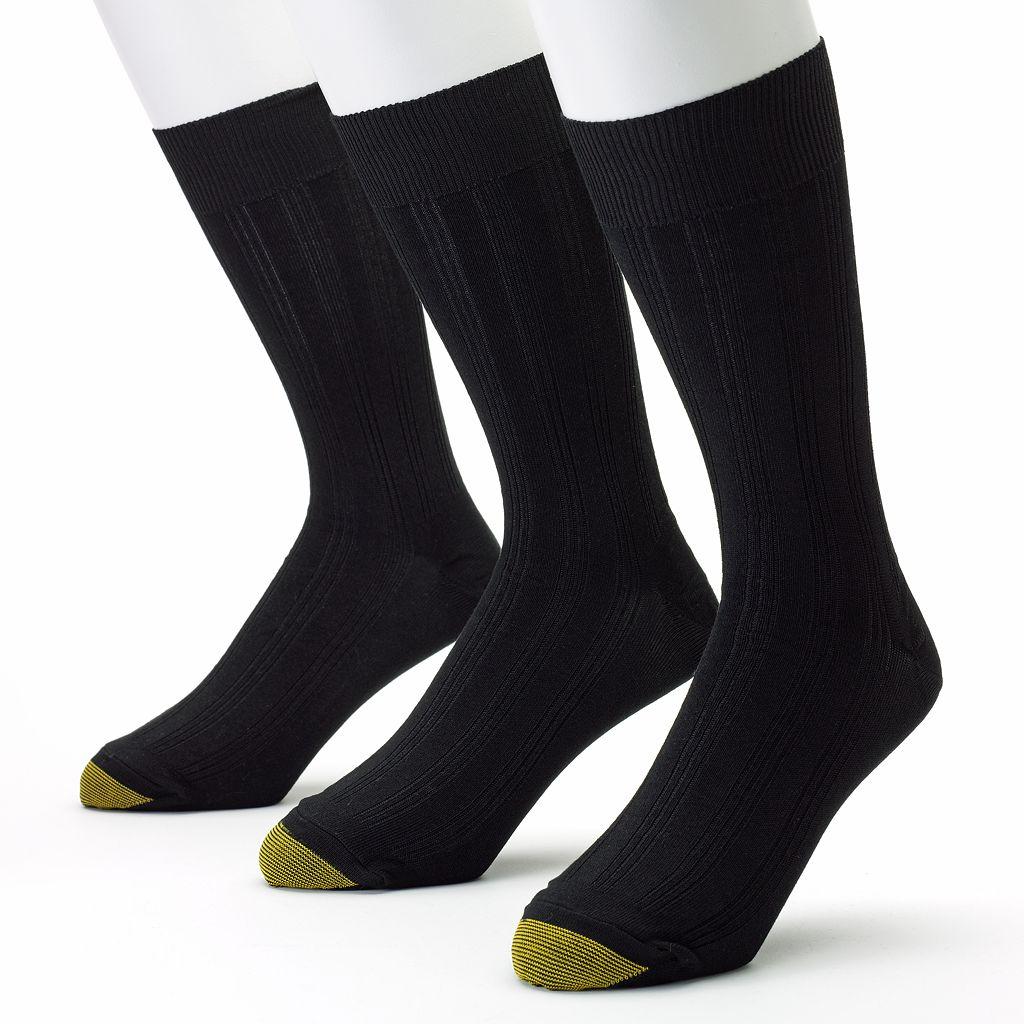 Men's GOLDTOE 3-pk. Middleton Dress Socks