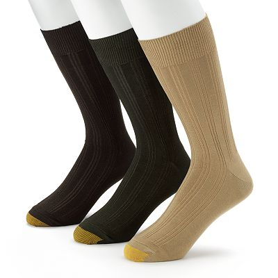 GOLDTOE 3-pk. Middleton Dress Socks