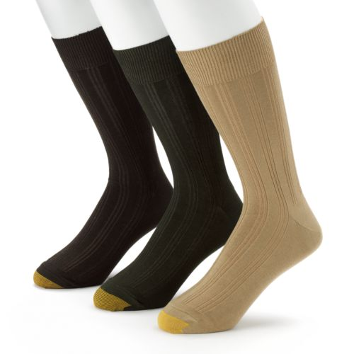 GOLDTOE 3-pk. Middleton Dress Socks