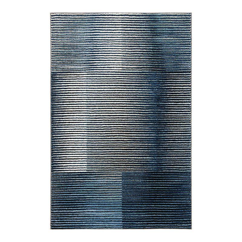 Safavieh Serenity Stripe Rug. Blue. 2X8 Ft