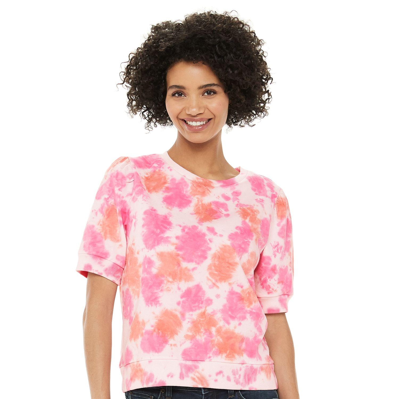Women's Sonoma Goods For Life® Puff Sleeve Sweatshirt