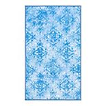 Disney's Frozen 2 Ice Blue/LT Blue Area Rug by Safavieh