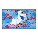 Disney's Frozen 2 Olaf Blue/Orange Area Rug By Safavieh